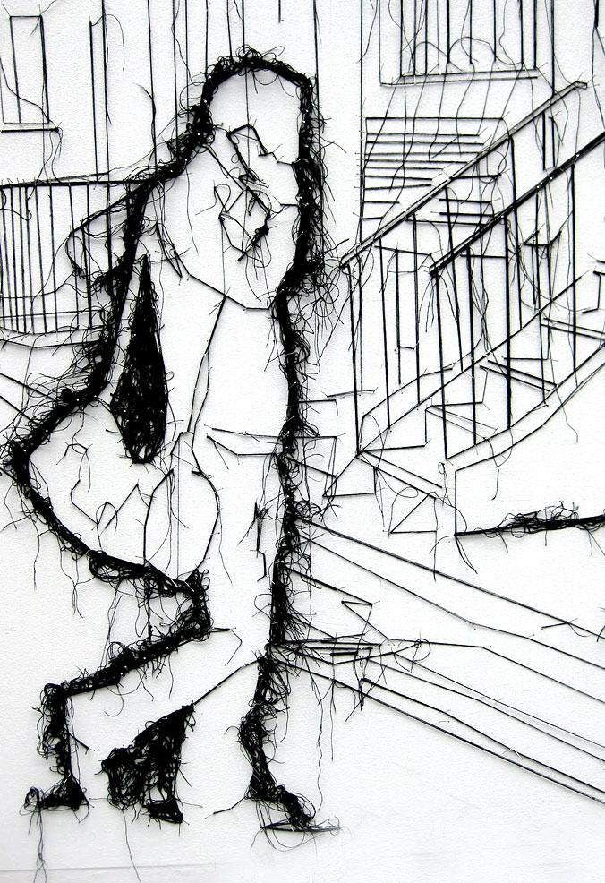 Contemporary Line Drawing Artists : Fiamma tortoli s debbie smyth — disegnare con un
